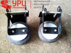 Lift axle mount BPW