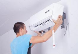 Предоставляем услуги по установке и ремонту кондиционеров