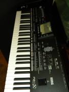 Yamaha C3 Grand Piano/Korg-PA3X-76-Key-keyboard